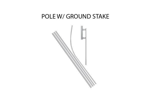 Advertising Flag Pole