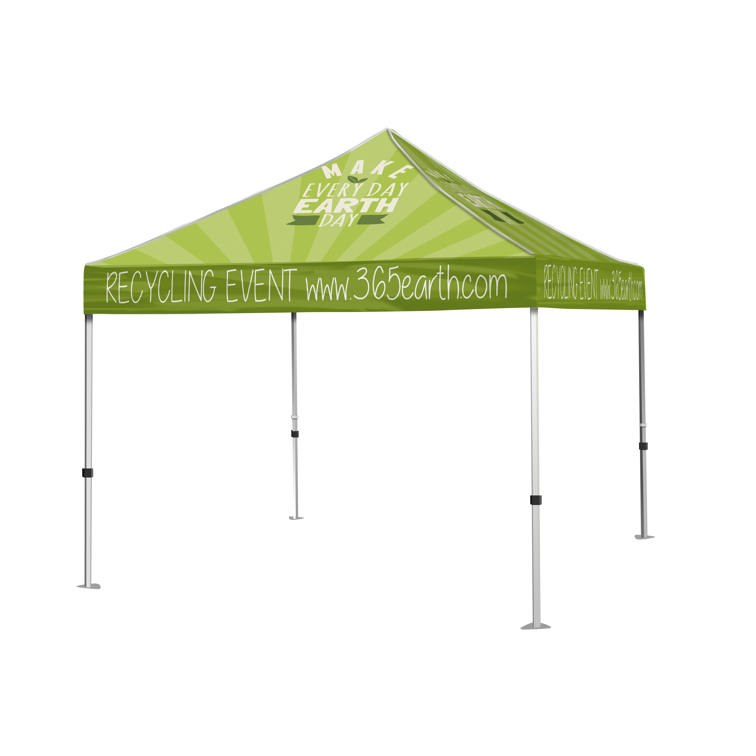 canopy event tents - a good sign