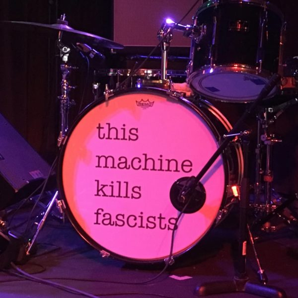 kick drum sticker